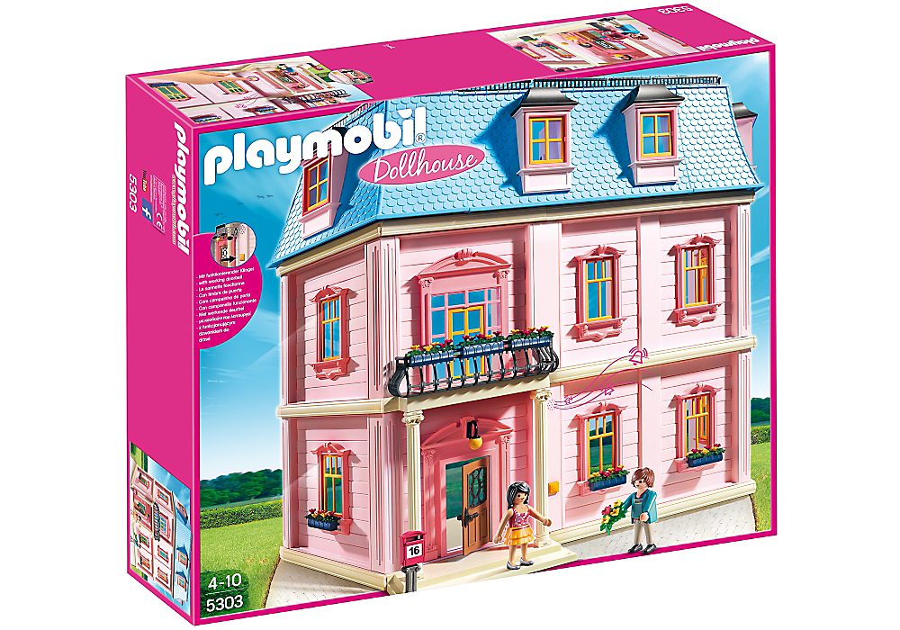 Deluxe Dollhouse - 5303 - PLAYMOBIL® USA | Play therapy wish list ...