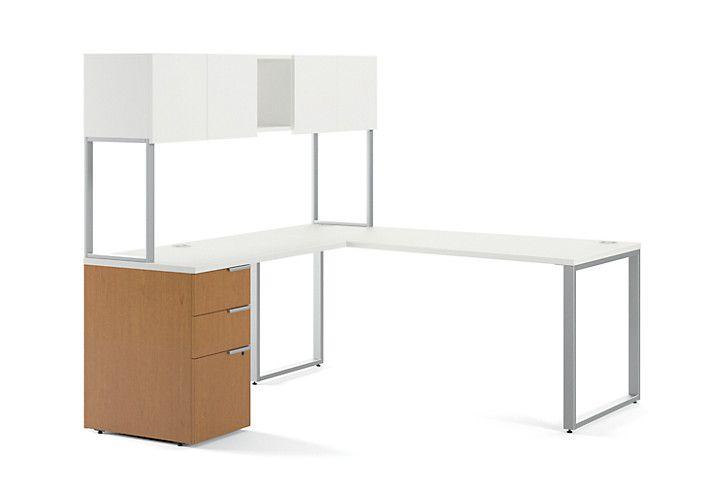 Hon Voi L Workstation Vc7272l1b Modern Desk Modular Desk Desk Solutions