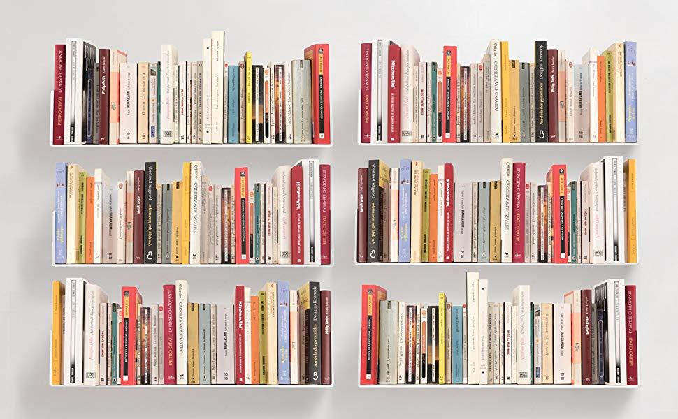 White Books In Shelf Google Search Wall Bookshelves Wall Mounted Bookshelves Floating Bookshelves