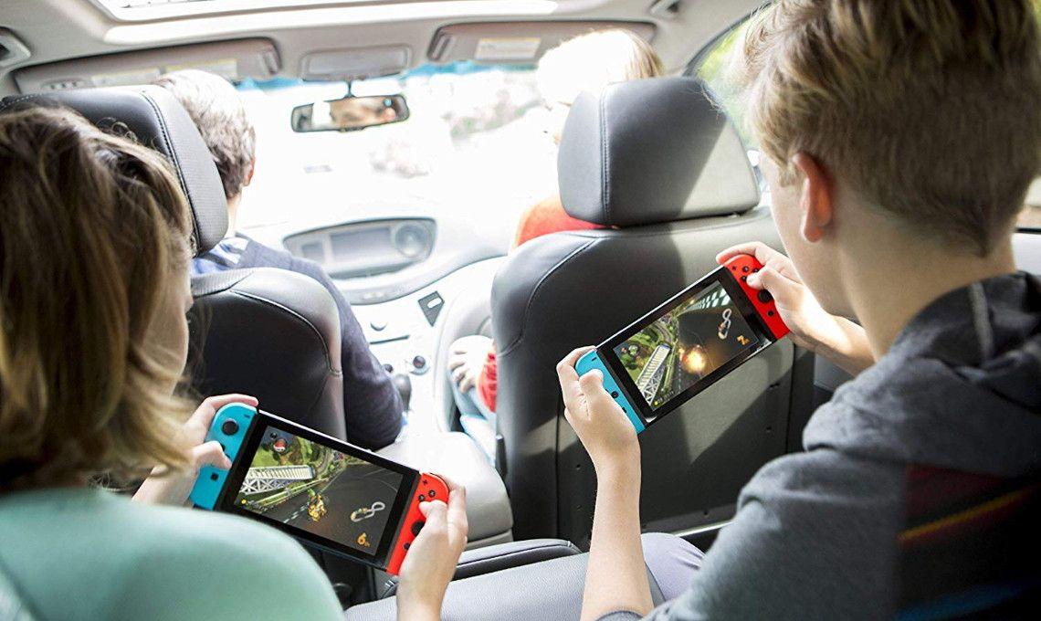 Nintendo Switch, Only 299 + 25 Amazon Credit! Mario