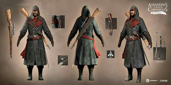 Assassin S Creed Chronicles Russia Nikolai Orelov Personagens