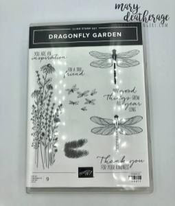 Stampin' Up! Dragonfly Garden Sneak Peek Thank You