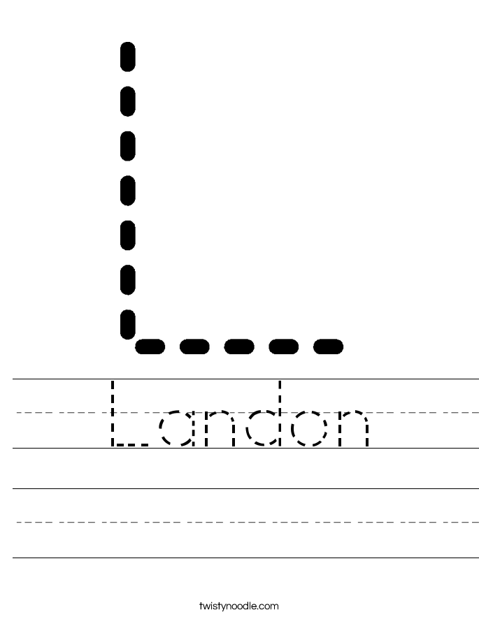 Landon Worksheet Worksheets Handwriting Worksheets Name Tracing Worksheets