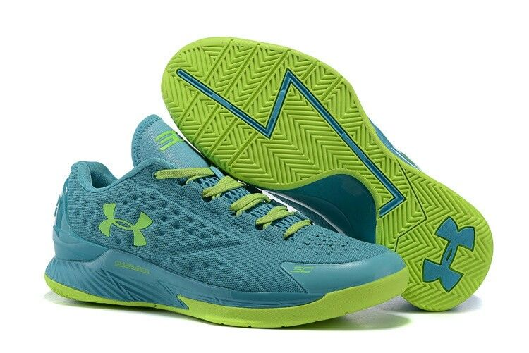 Under Armour ClutchFit Drive Low Stephen Curry Shoes Green