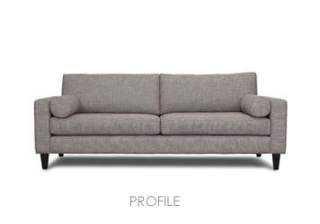 Our Profile Sofa Made In Melbourne Sofas Direct