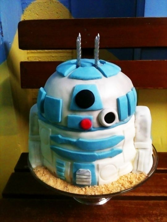 R2 D2 Cake #howto #tutorial