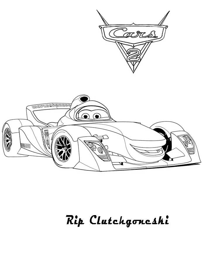 Cars 2 Printable Coloring Pages Cars Coloring Pages Race Car Coloring Pages Coloring Pages