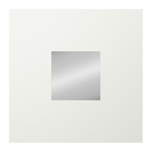 Malma espejo blanco 26 x 26 cm lo ef mero como - Espejo pie ikea ...