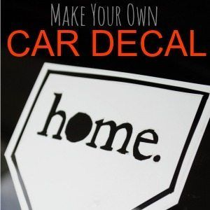 DIY Fun Make Your Own Car Decals Car Decal And Craft - How to make vinyl car decals at home