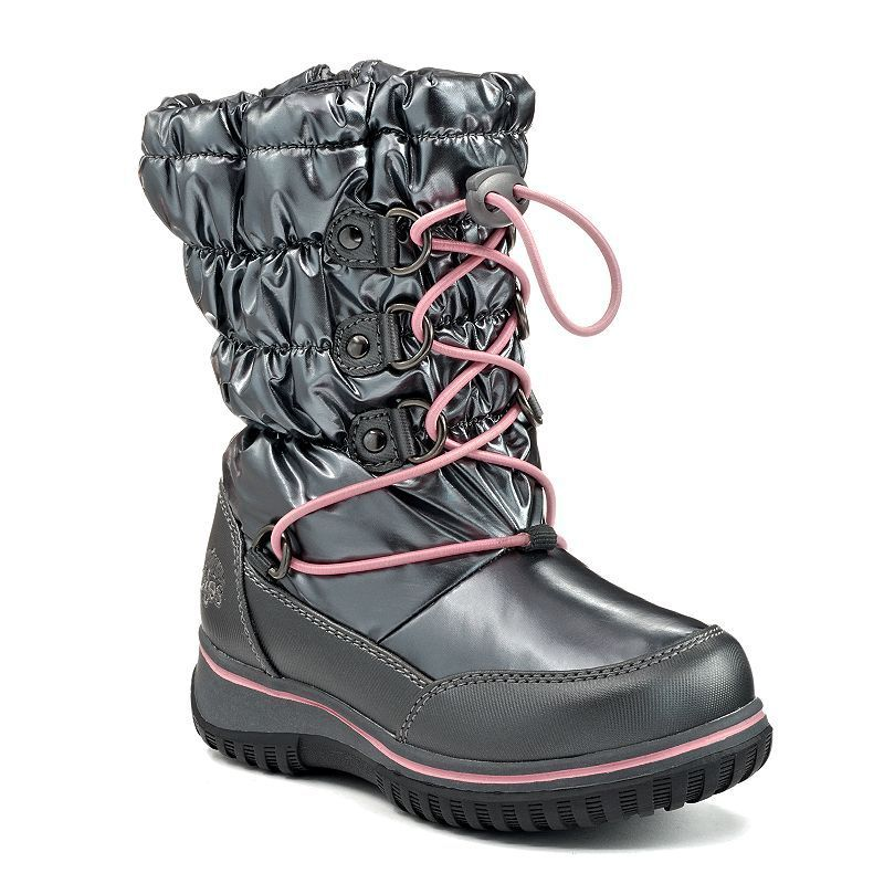 Totes Jasmine Toddler Girls' Water-Resistant Winter Boots, Girl's, Size:
