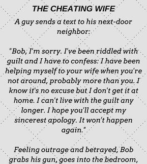 Next door neighbor cheating wife