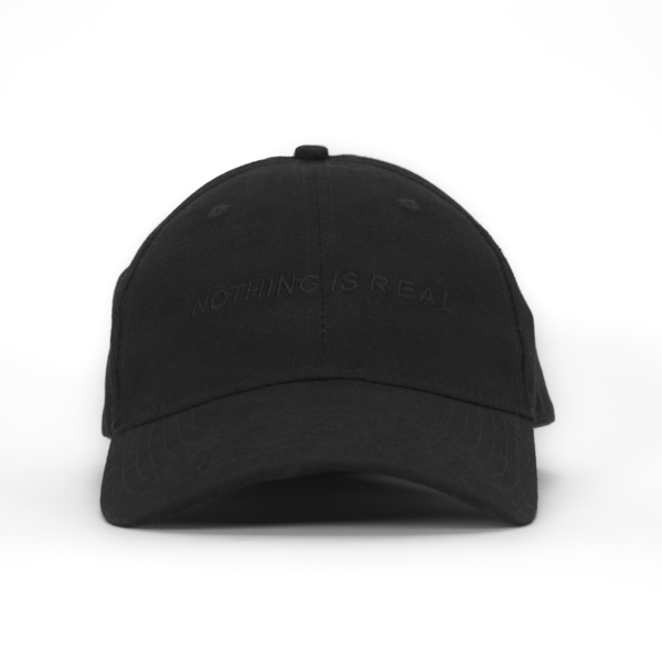 Nothing Is Real Embroidered Black Dad Hat Dad Hats Hats Black Dad