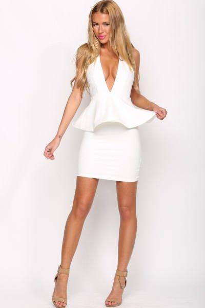 Esplanade Dress White