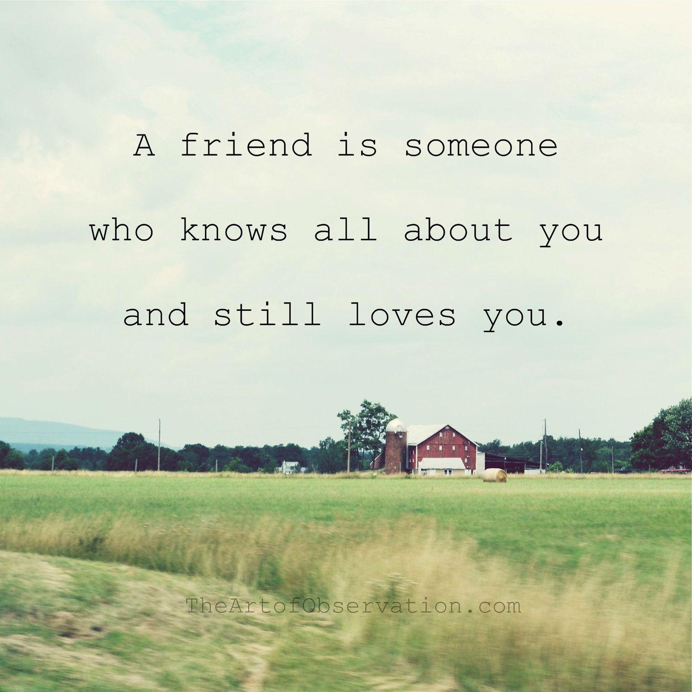friendship quote friend