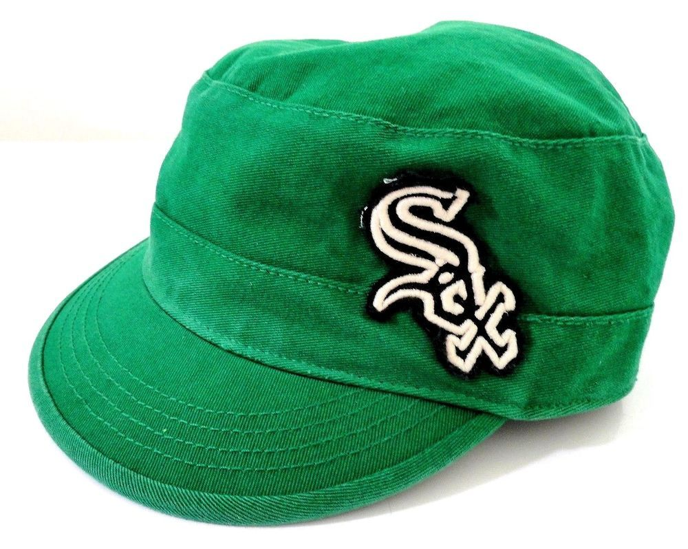 '47 Twins Green White Sox Women's Size Medium Large Cap