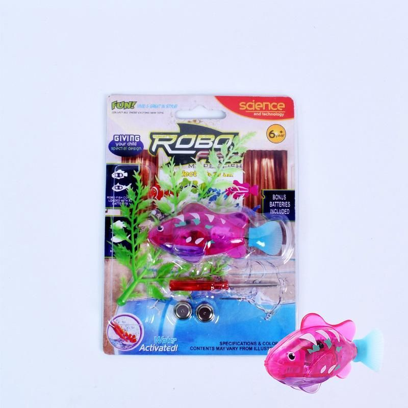 1pc Funny Fish Baby Bath Toys Battery Electronic Fish Toys With