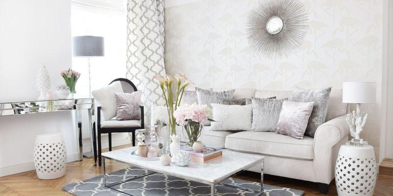 Weiβes Wohnzimmer gestalten: stilvolle ...