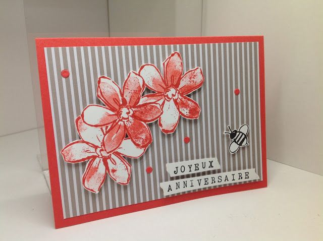 SU Garden in Bloom birthday card