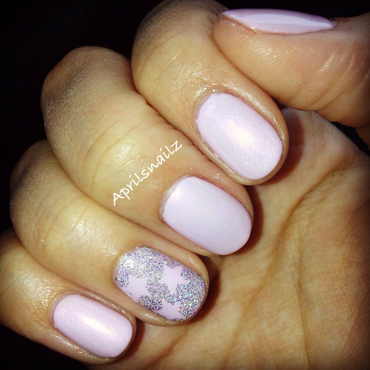 CND Shellac Cake Pop + Moonlight And