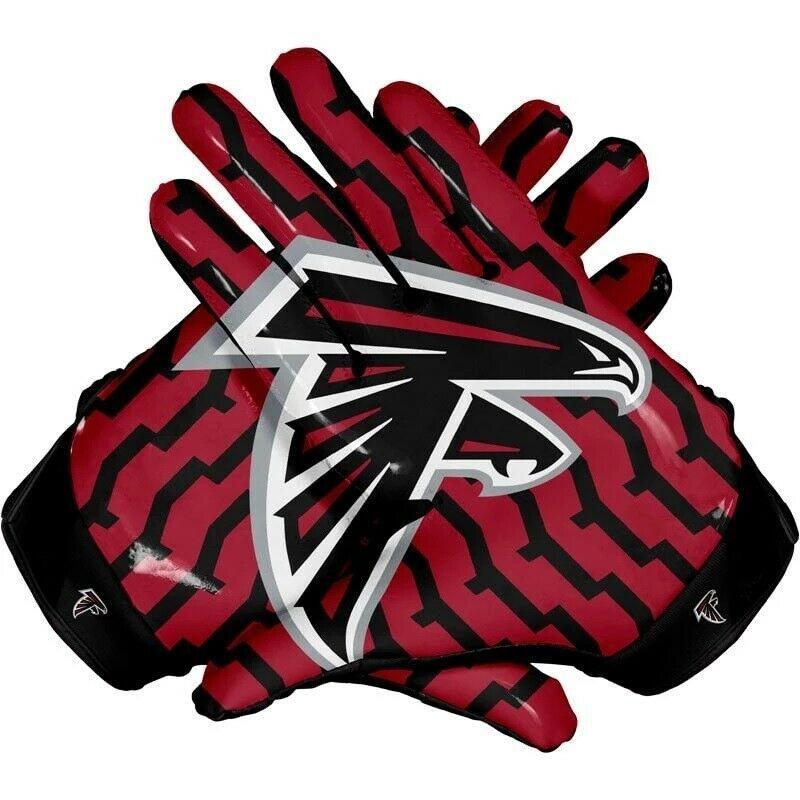 American atlanta falcon team nfl football gloves with glue