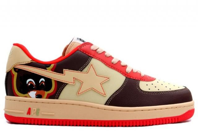 "Image result for A Bathing Ape Bapesta FS 001 ""Dropout Bear"""
