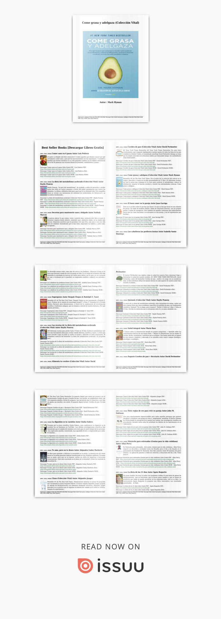 libro come grasa y adelgaza pdf gratis