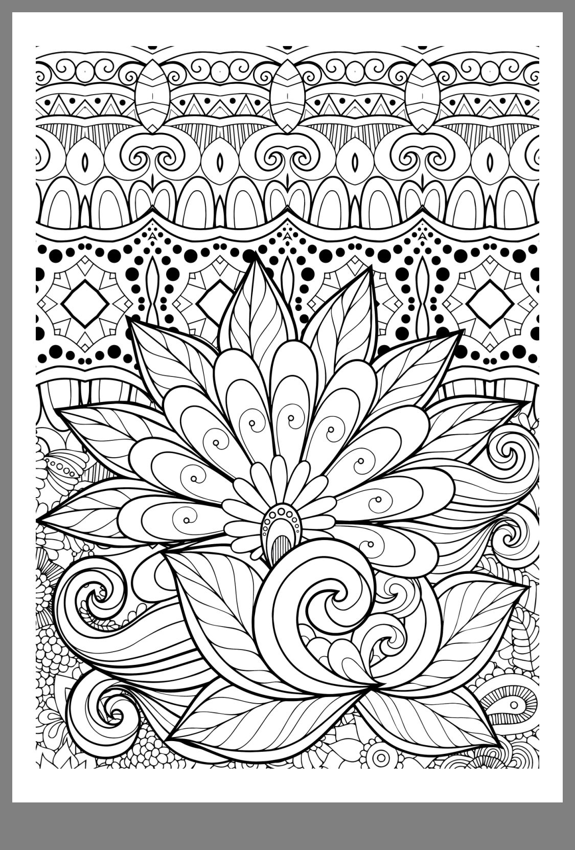 Pin By Ie E On Draws Pattern Coloring Pages Cute Coloring Pages Mandala Coloring