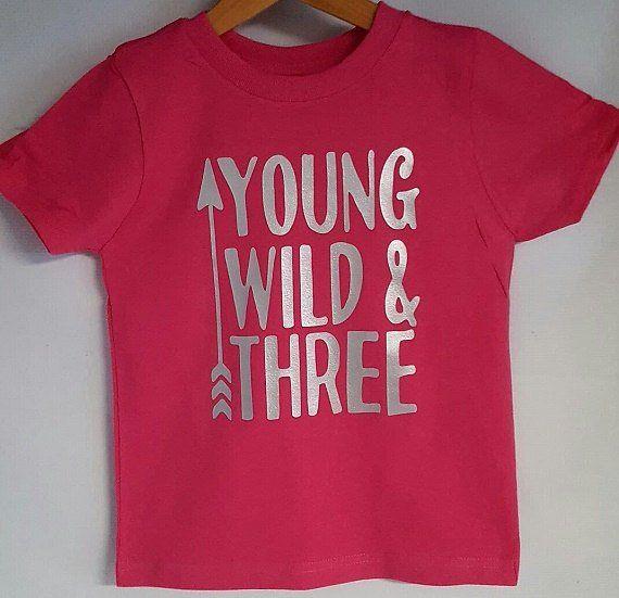 Young Wild And Three Birthday Shirt Arrow Family Shirtsmama Bear Papa Bearcub Shirts