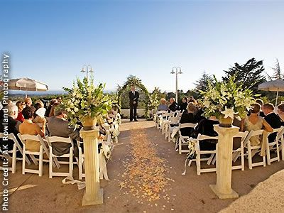 Chaminade Resort And Spa Santa Cruz Wedding Venues Reception Rehearsal Dinner