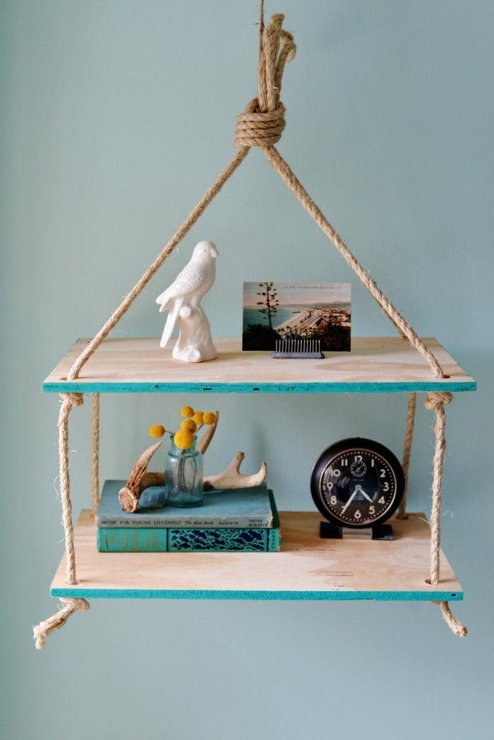 bastelideen für hängendes regal DIY IdeenProjekte Pinterest - Wohnzimmer Ideen Zum Selber Machen