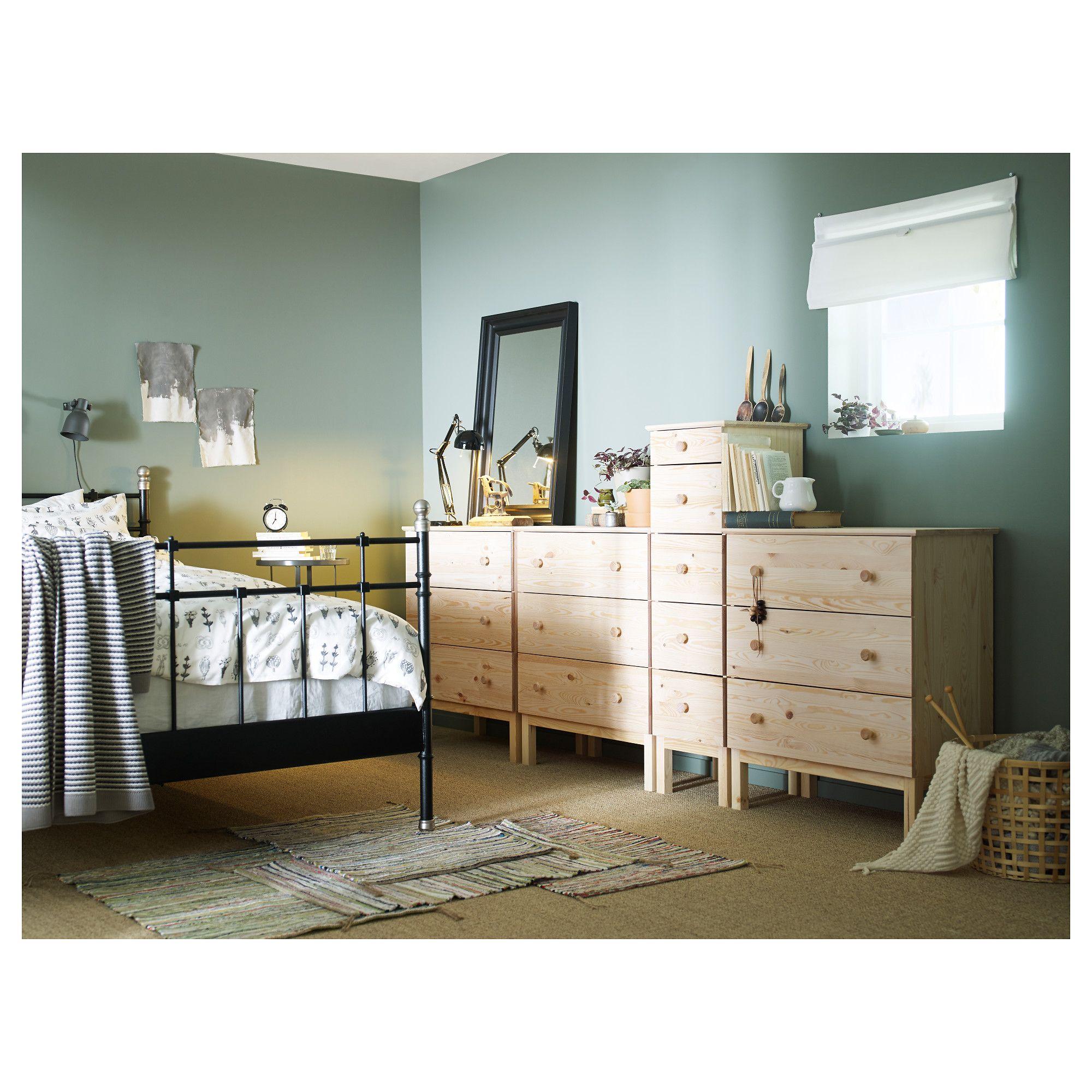 IKEA - TARVA, Komoda, 5 szuflad, , Produkt wykonany z litego drewna ...