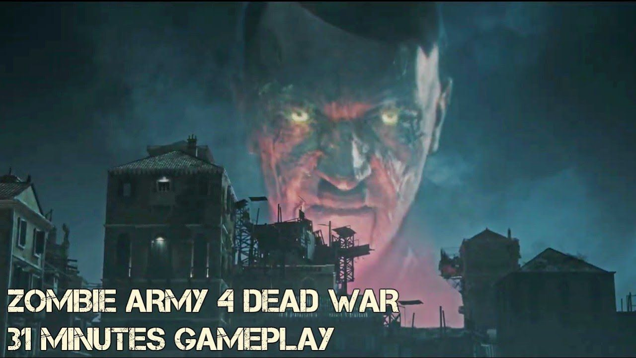 Zombie Army 4 Dead War 31 Minutes Of Gameplay Upcoming Tactical Shoo Zombie Army Survival Horror Game Games Zombie