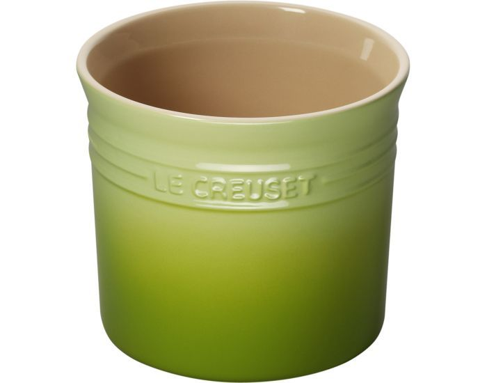 Kitchen Utensil Holder Le Creuset Lime Green Decor