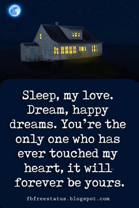 Quotes about goodnight to a loved one