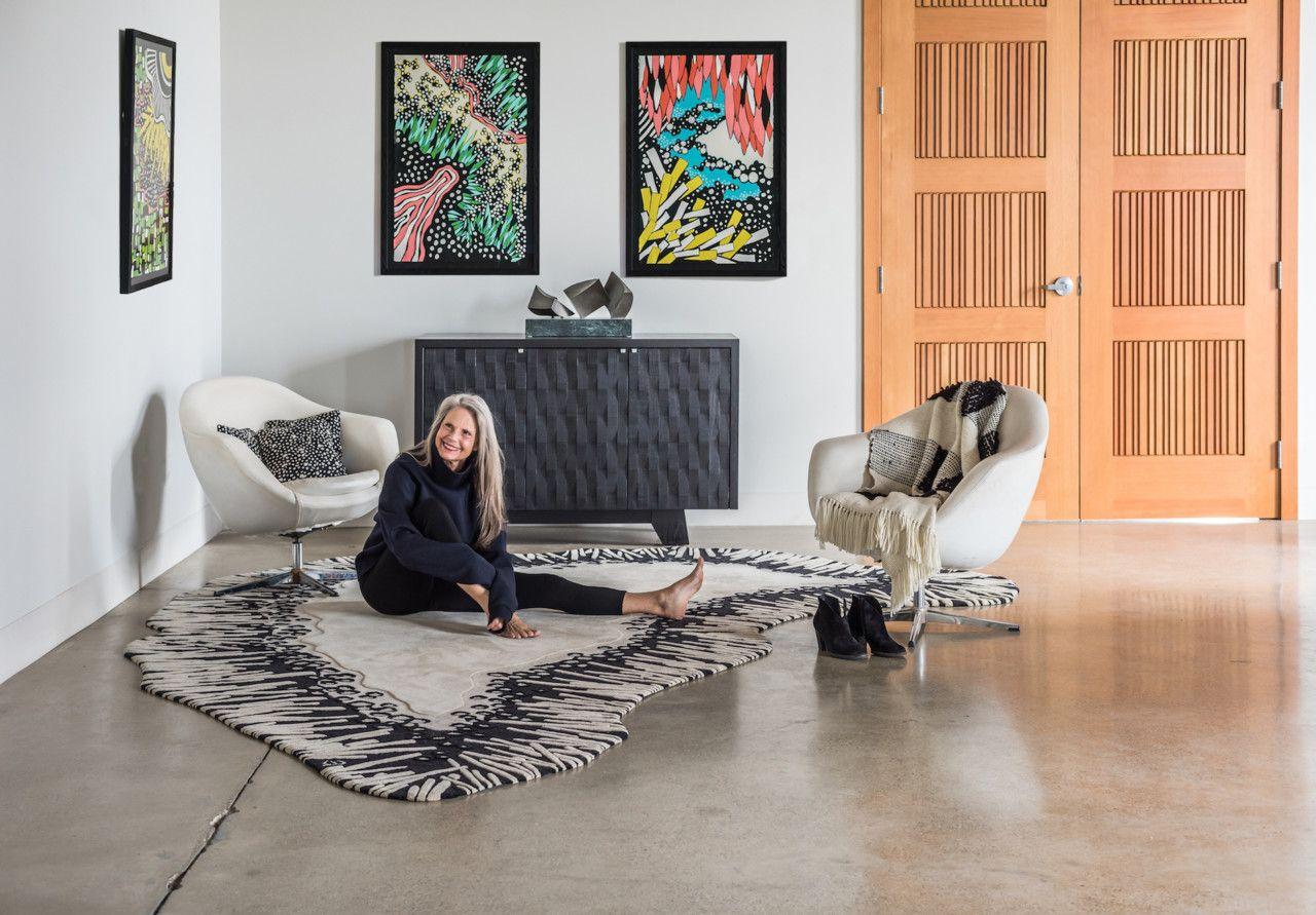 Angela adamsu inner nature rug collection celebrates individuality