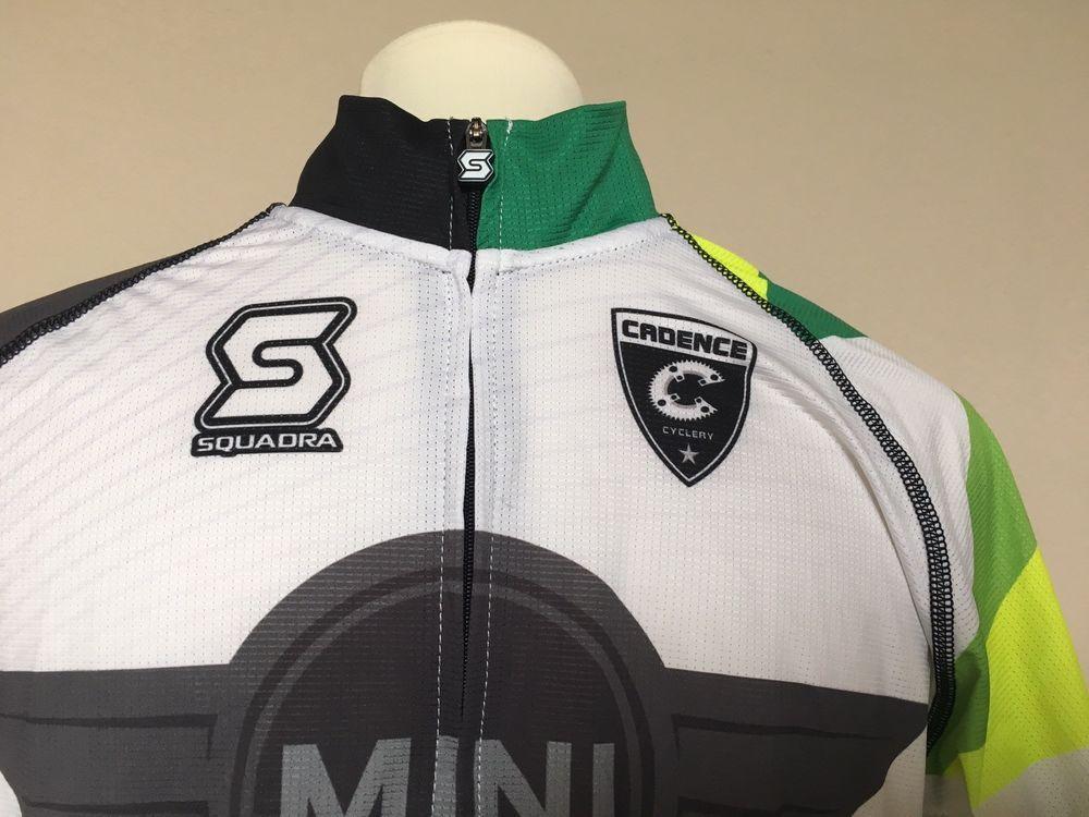 SPEG Canada Canadian Mens Short Sleeve Cycling Jersey Full Zipper