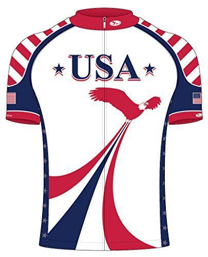 Recumbent USA Jersey 2XL    Visit the image link more details ... b91e7192b