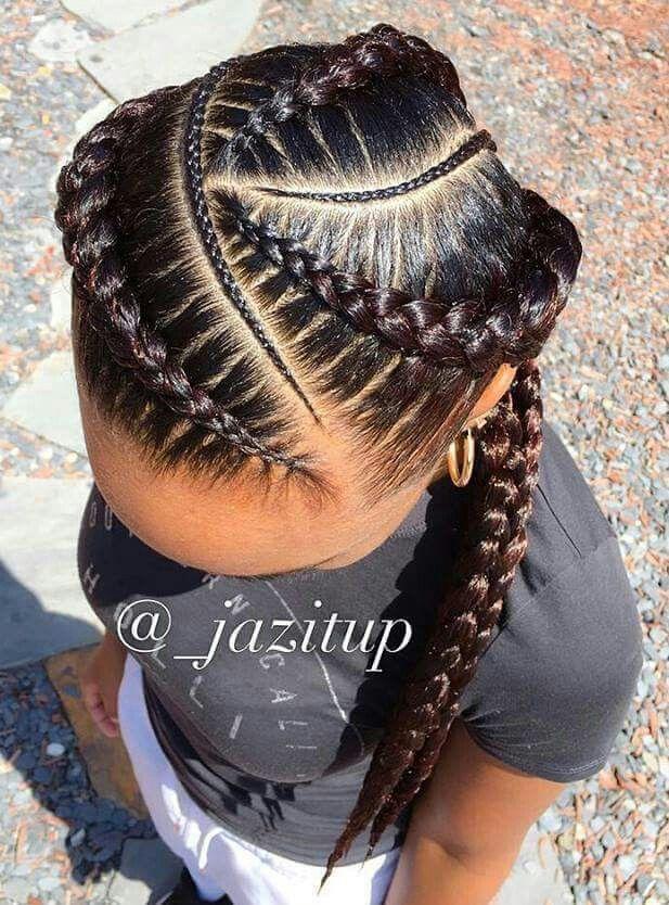 Braids Natural Hair Styles African Braids Hairstyles Cornrow
