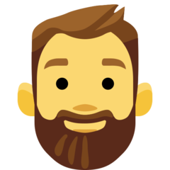 Bearded Person On Facebook 2 2 1 In 2020 Beard Ibm Emoji