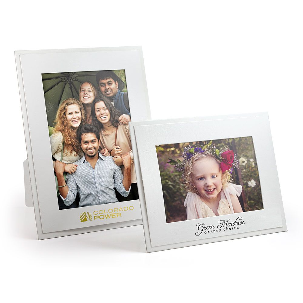 White Photo Frame For 4 X 6 5 X 7 Prints Promotional