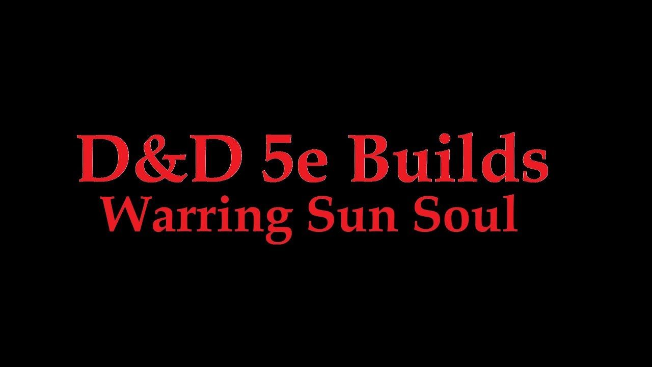 Sun Soul Monk and War Cleric multiclass D&D 5e  | Dungeon