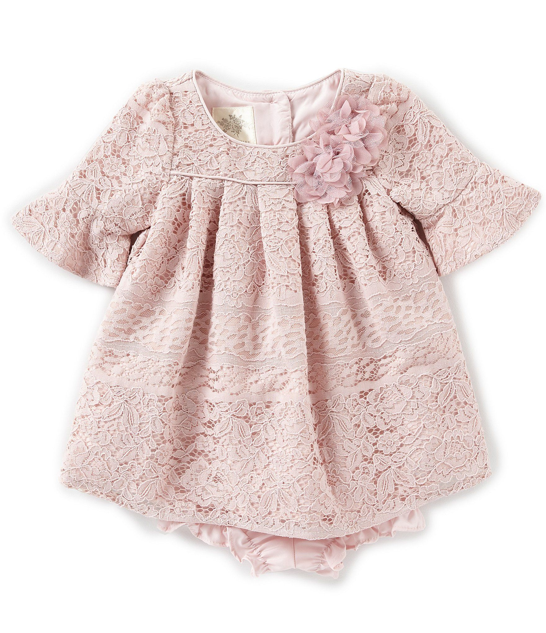 da5e32c9d6dfc Shop for Laura Ashley London Baby Girls Newborn-24 Months Bell-Sleeve Lace-Overlay  A-Line Dress at Dillards.com. Visit Dillards.com to find clothing, ...