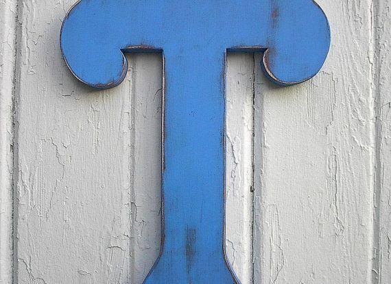 wood letter t - Hong.hankk.co