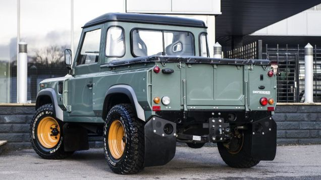 Now This Is How You Make A Tiny Truck Look Tough Land Rover Pick