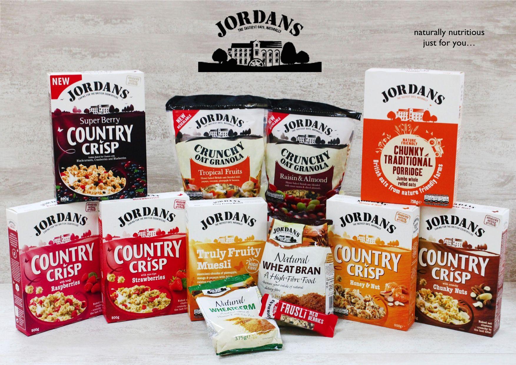 Les nouveaux packagings Granola de Jordans