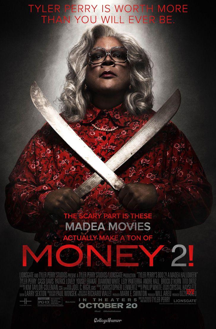 If movie titles were honest Halloween full movie, Madea