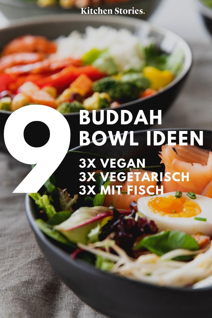 9 Buddha Bowl Rezepte Fur Deinen Buro Alltag Stories Kitchen Stories Gesunde Vegetarische Rezepte Rezepte Buddha Bowl Rezept