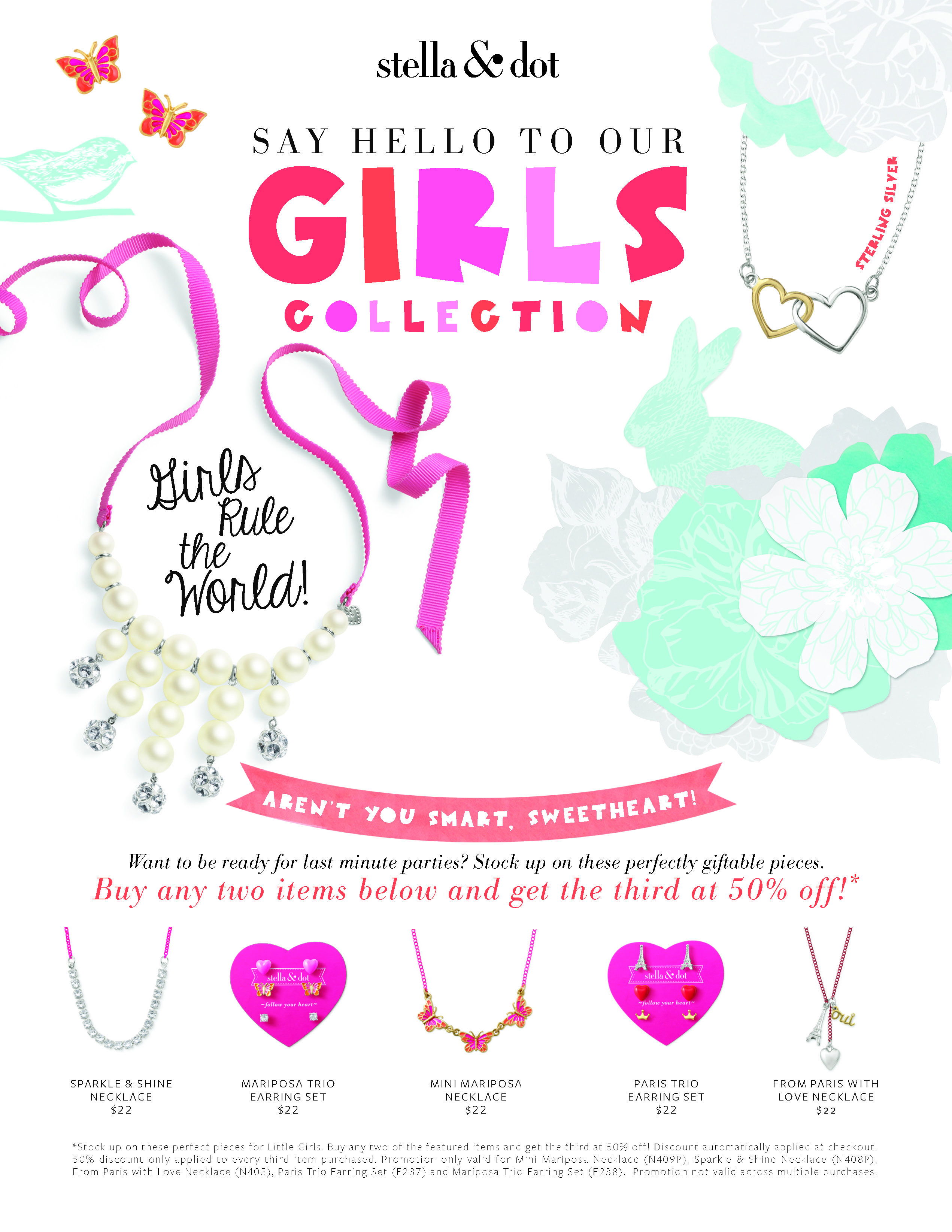 stella dot girls collection includes some buy 2 get 1 50 off