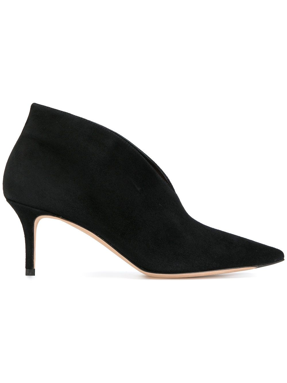 UNüTZER Pointed ankle boots
