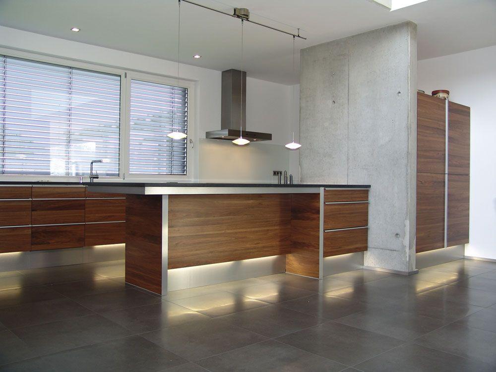 Küche mit Sichtbeton Küchen Kitchen Pinterest